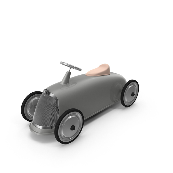 Toy Car: Roadster Scoot Gray PNG & PSD Images