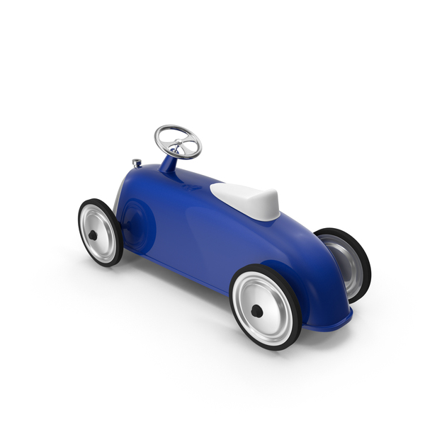 Roadster Scoot Toy Car Blue PNG & PSD Images