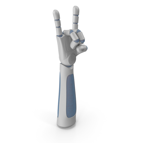 Robo Hand Rock N Roll PNG & PSD Images