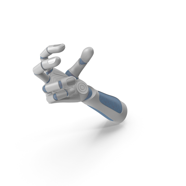 Robo Hand Small Sphere Object Hold Pose PNG & PSD Images