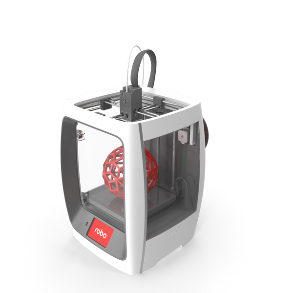 Robo R2 Smart 3D Printer PNG & PSD Images