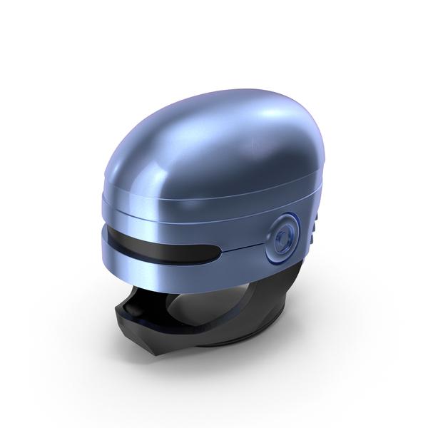 Robot Head: Robocop Helmet PNG & PSD Images