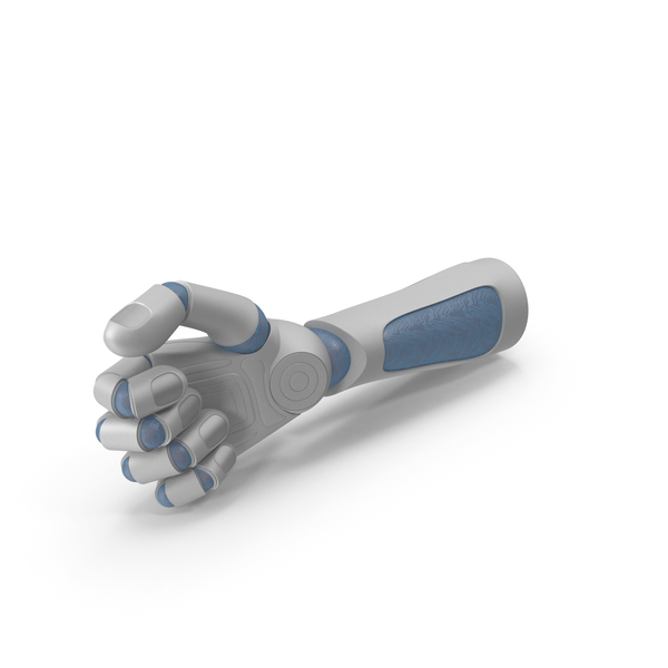 Robohand Thumb Object Hold Pose PNG & PSD Images