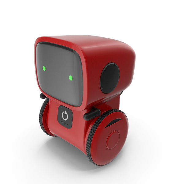 Toy: Robot Red PNG & PSD Images