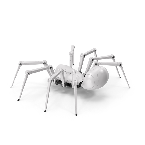 Robot Spider White PNG & PSD Images