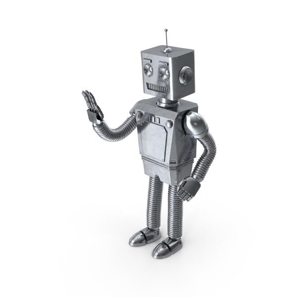 Robot Waving PNG & PSD Images