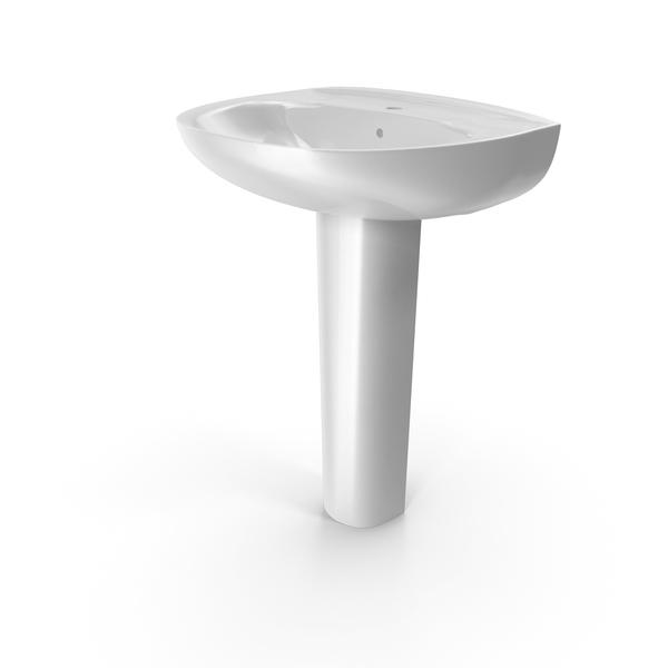 Sink: Roca Victoria Basin Full Pedestal PNG & PSD Images