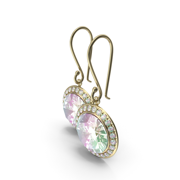 Rock Candy Earrings PNG & PSD Images