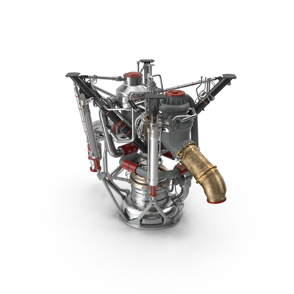 Rocket Engine RS 68 PNG & PSD Images