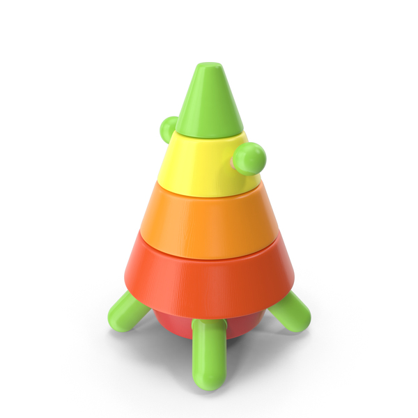 Rocket Pyramid Toy PNG & PSD Images