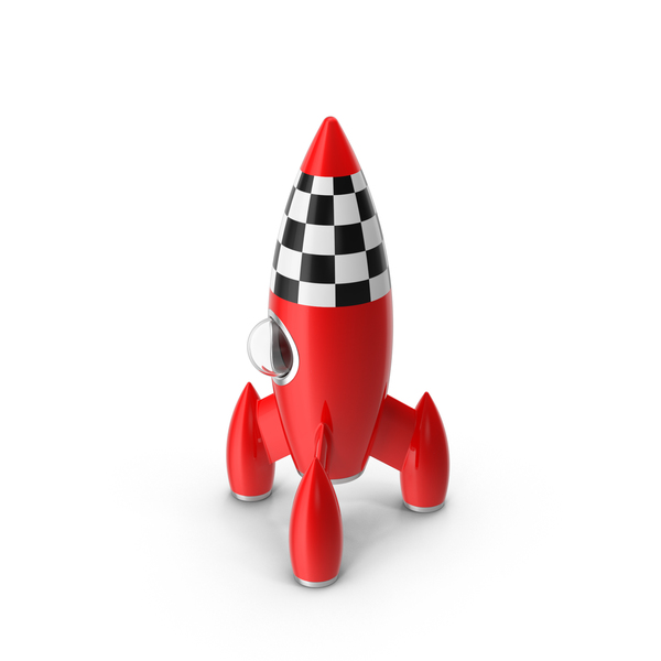 Spacecraft: Rocket Toy PNG & PSD Images