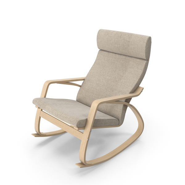 Rocking Chair Brown PNG & PSD Images