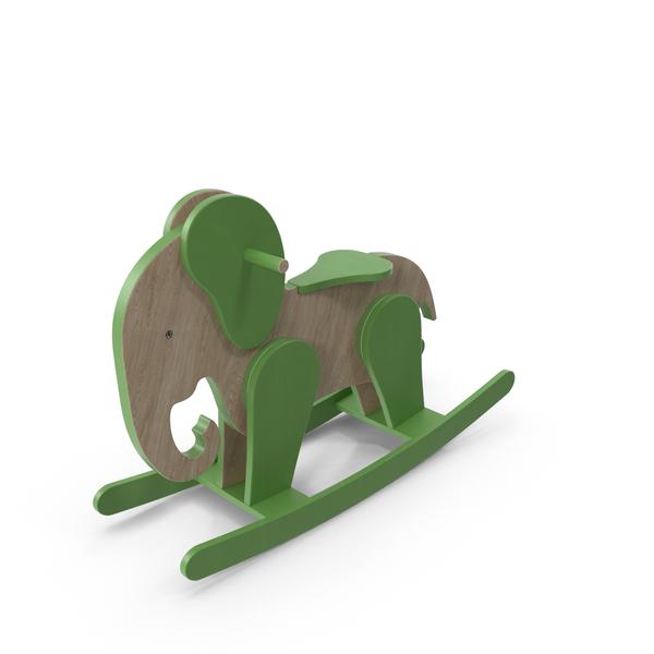 Horse: Rocking Elephant PNG & PSD Images