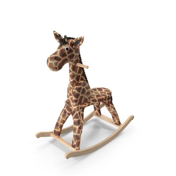 Rocking Giraffe PNG & PSD Images