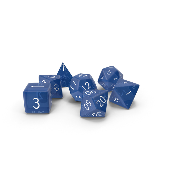 Role Playing Game Dice PNG & PSD Images