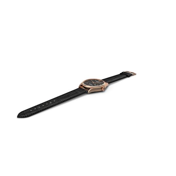 Rolex Cellini Date Black Dial Open PNG & PSD Images