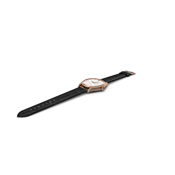 Rolex Cellini Date White Dial Open Strap PNG & PSD Images
