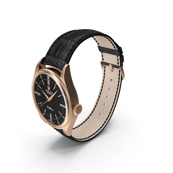 Rolex Cellini Time Black Dial PNG & PSD Images
