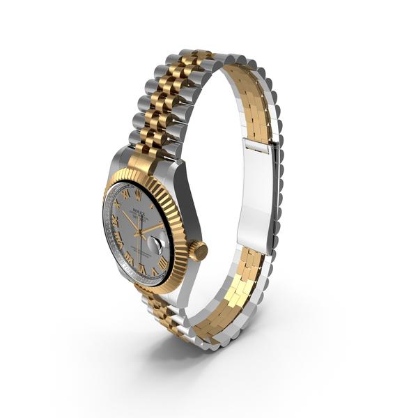 Watch: Rolex Datejust 36 PNG & PSD Images