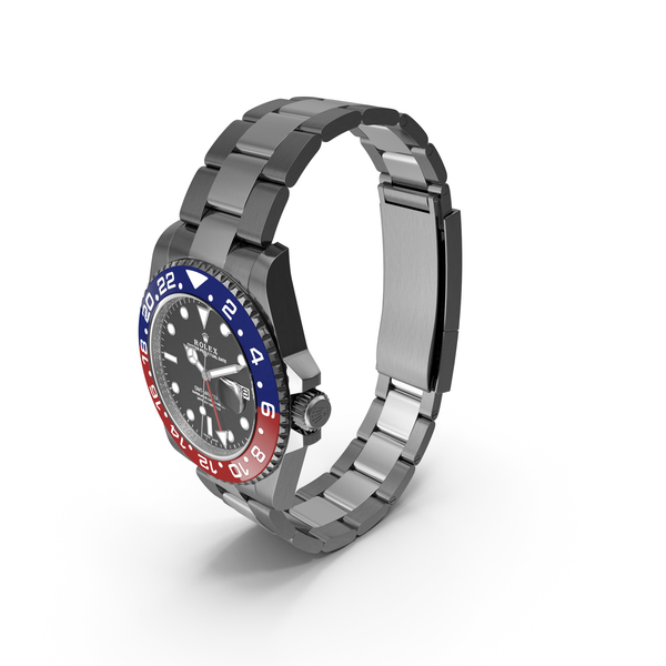Rolex GMT-Master II Blue Red PNG & PSD Images
