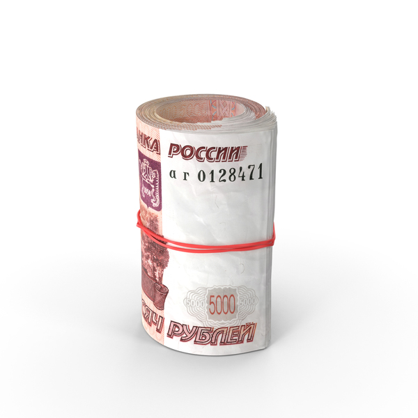 Roll of 5000 Ruble Object