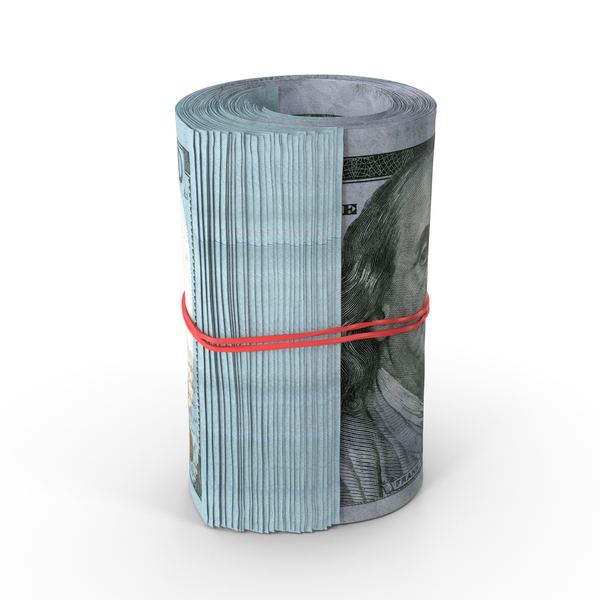 Roll of Dollars PNG & PSD Images