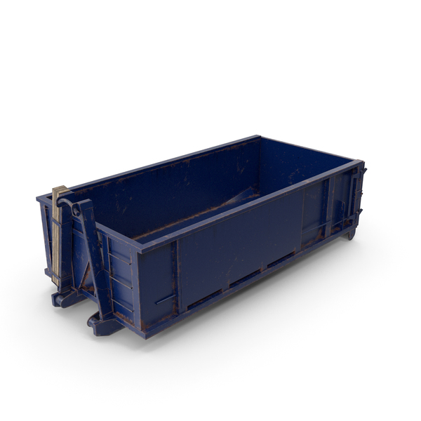 Roll Off Dumpster Dusty 15 Yard PNG & PSD Images