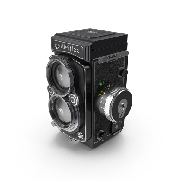 Antique: Rolleiflex 2.8 FX Camera PNG & PSD Images