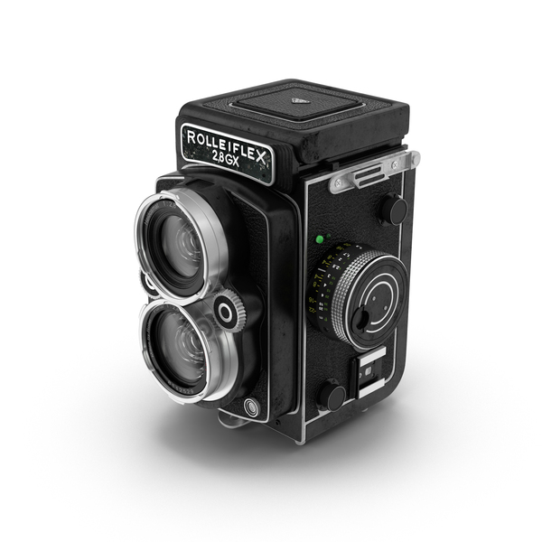 Rolleiflex Camera PNG & PSD Images