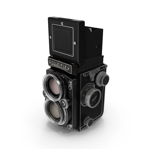 Box: Rolleiflex TLR Film Camera PNG & PSD Images