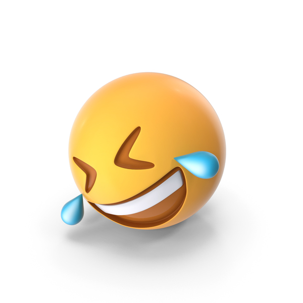 Rolling on the Floor Laughing Emoji PNG & PSD Images