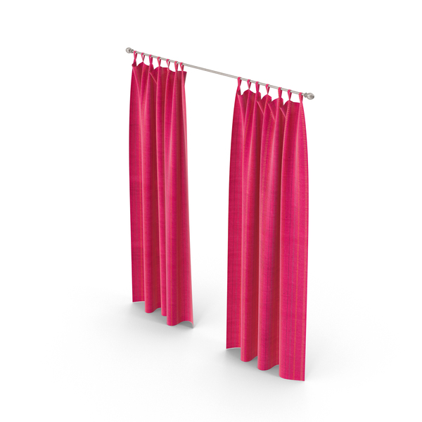 Rose Curtains PNG & PSD Images