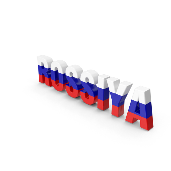 Rossiya Text PNG & PSD Images
