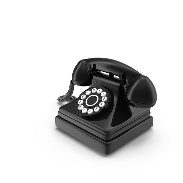 Phone: Rotary Telephone PNG & PSD Images