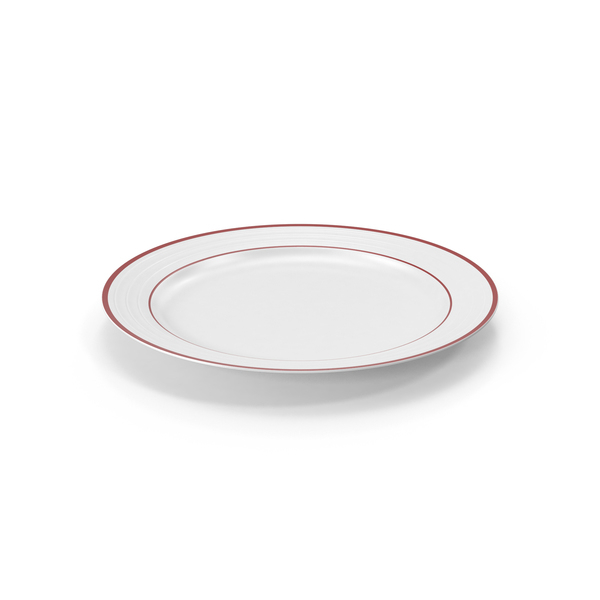 Roulette Dinner Plate Red Band PNG & PSD Images