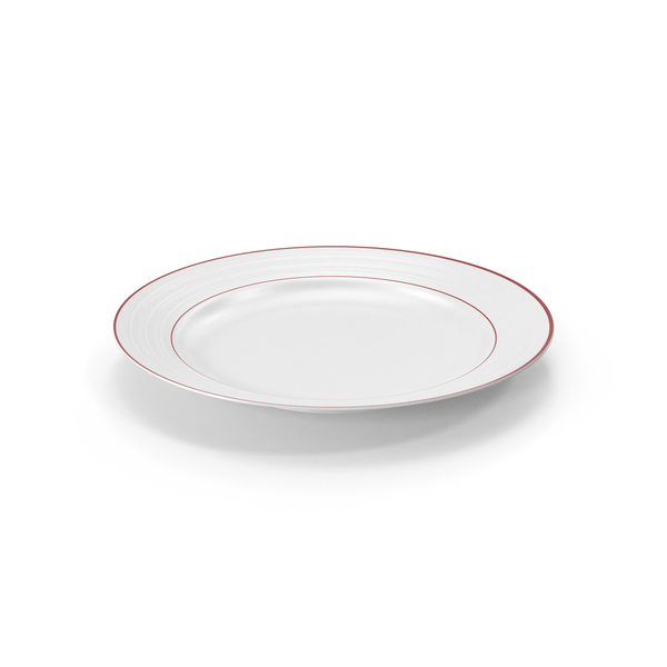 Roulette Salad Plate Red Band PNG & PSD Images