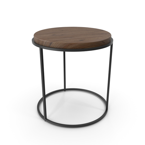 Round Accent Table PNG & PSD Images