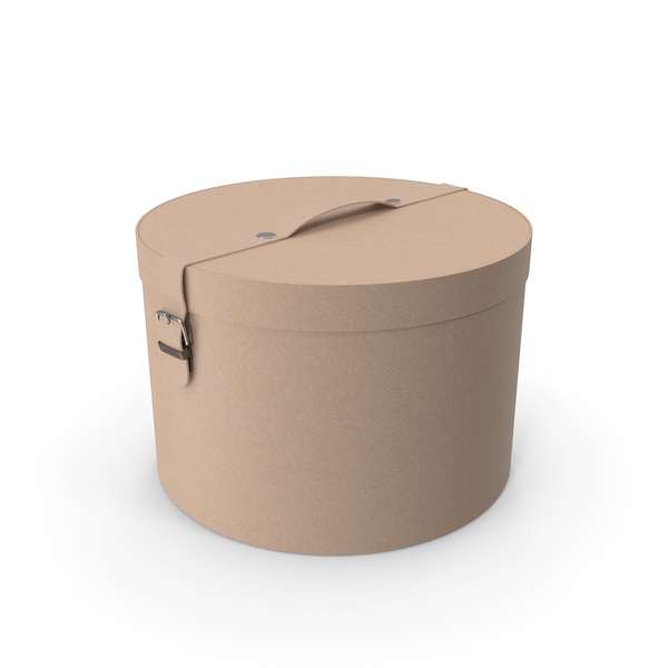 Round Box Beige PNG & PSD Images