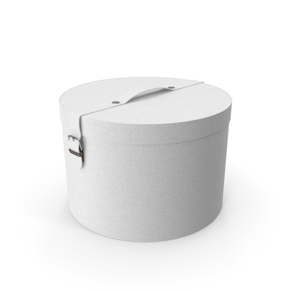 Round Box White PNG & PSD Images