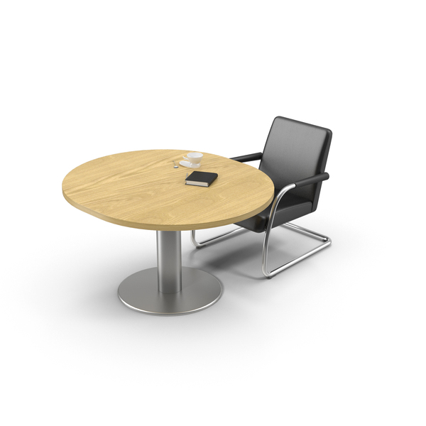 Round Desk PNG & PSD Images