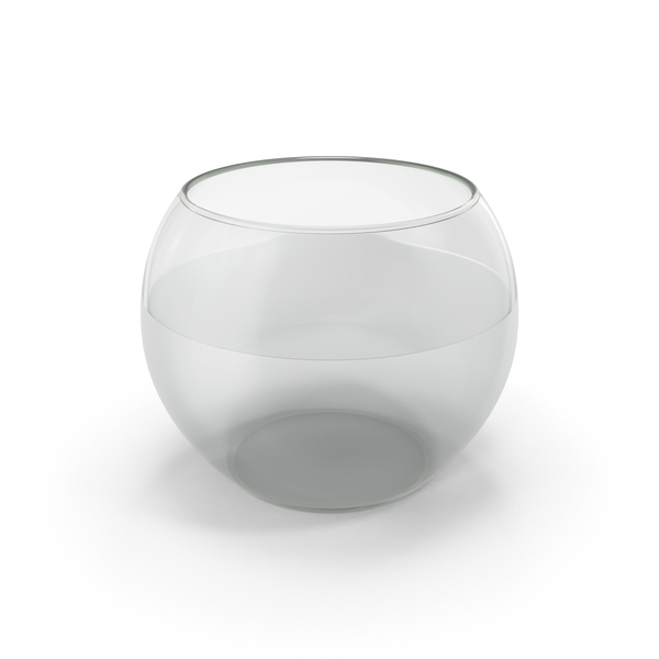 Fishbowl: Round Glass Aquarium PNG & PSD Images