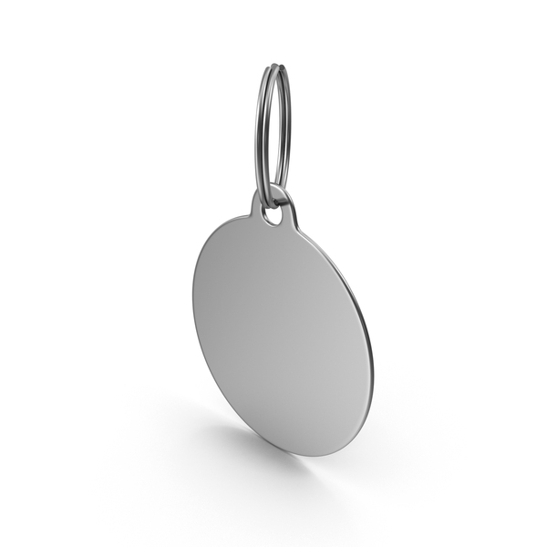 Round Keychain PNG & PSD Images