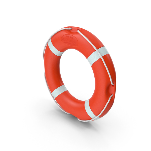 Round Life Saving Buoy PNG & PSD Images