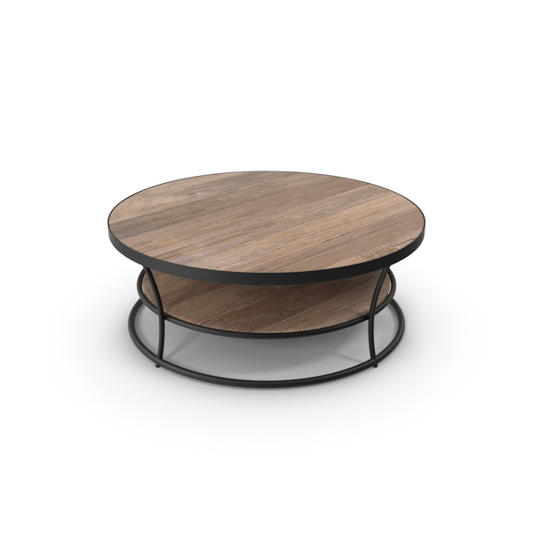 Round  Patio Coffee Table PNG & PSD Images
