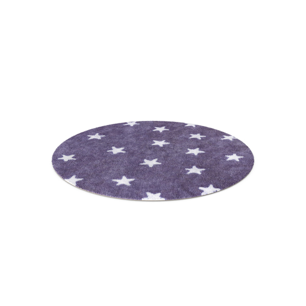 Round Rug with Stars PNG & PSD Images