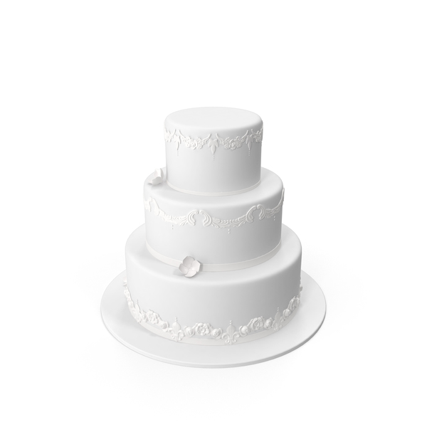 Round Wedding Cake PNG & PSD Images