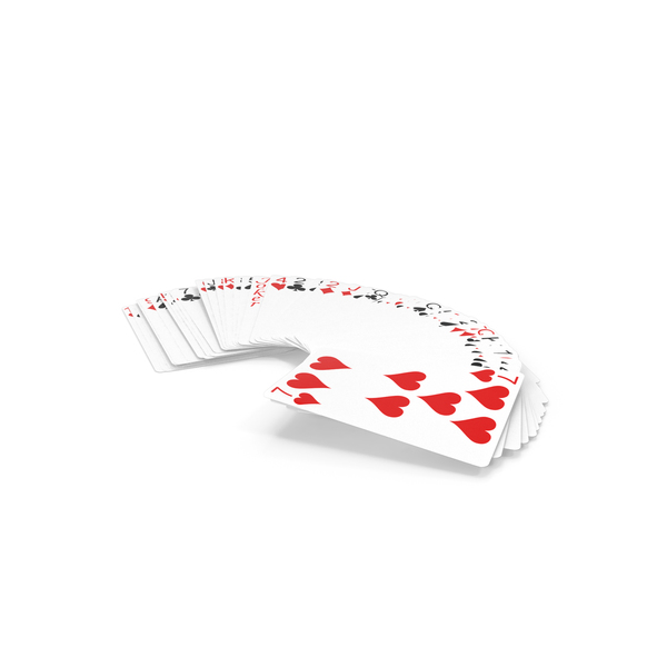 Row of Playing Cards PNG & PSD Images