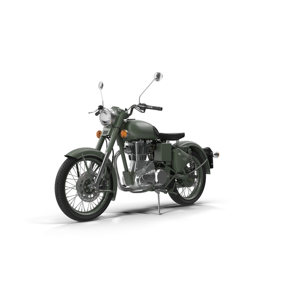 Royal Enfield Classic 500 Motorcycle PNG & PSD Images