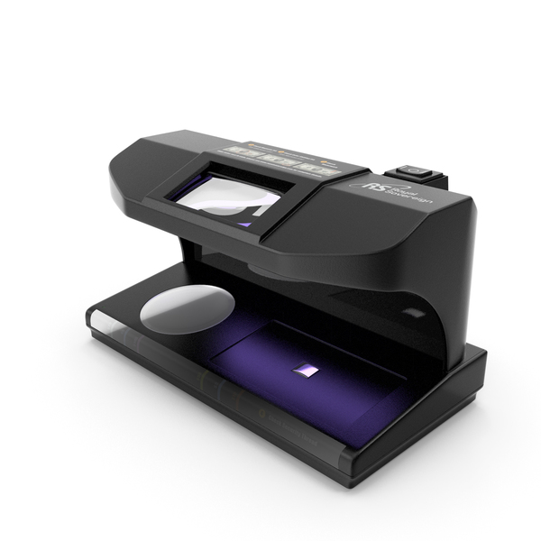 Money Counter: Royal Sovereign Ultraviolet Counterfeit Detector PNG & PSD Images