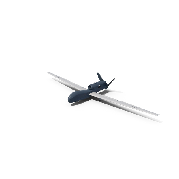 RQ-4 Global Hawk UAV Object